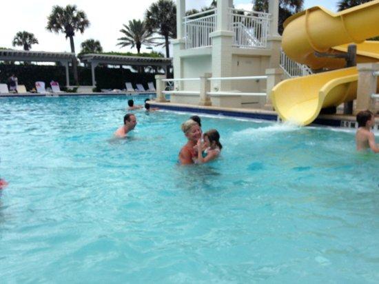 Ponte Vedra Inn & Club: kids pool slide