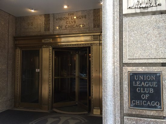 Union League Club : 入口