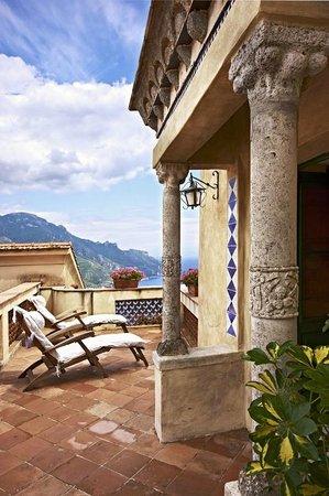Villa Cimbrone Hotel: Private Terrace