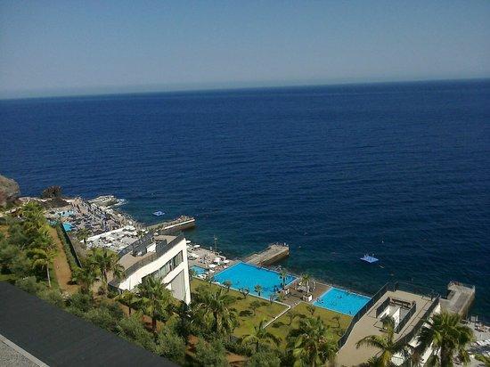 VidaMar Resort Hotel Madeira: plataforma marítima