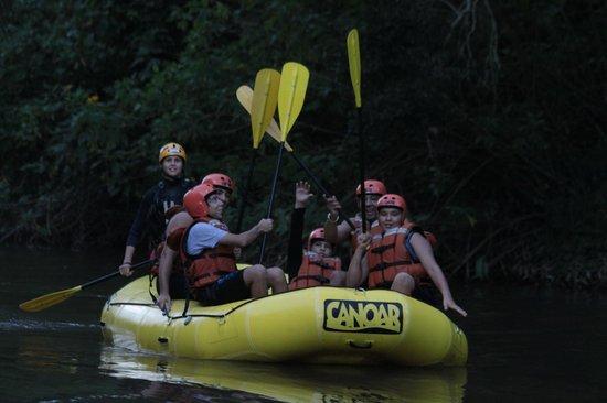 Juquitiba, SP: Rafting no Rio Juquiá