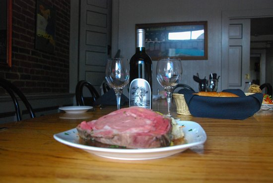 Murphy's : Prime Rib and Excellent Silver Oaks Wine