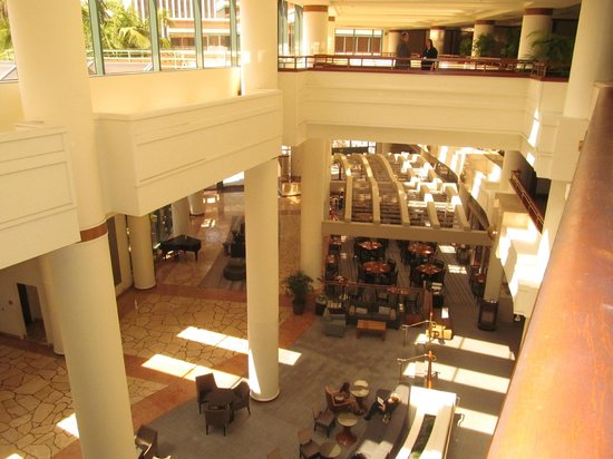 The Westin Long Beach: view overlooking the restaurant