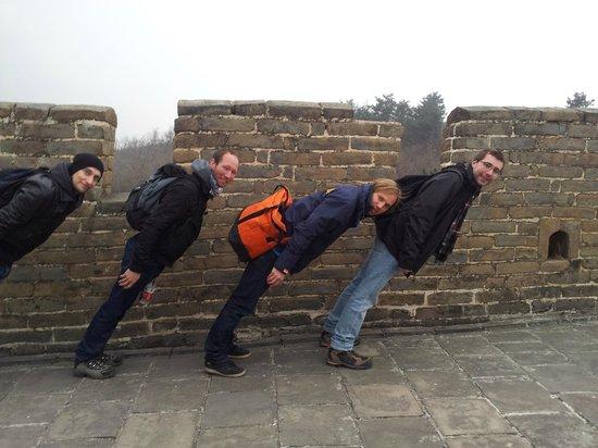 Side-car Motorcycles Trips - Beijing Sideways: Great Wall fancy time