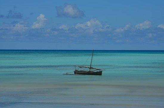 Andilana Beach Resort : BARCA A NOSY IRANJA