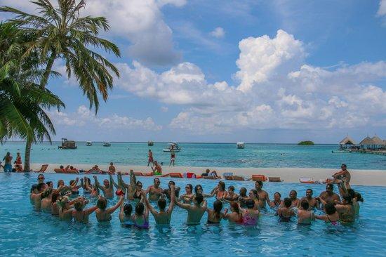 Club Med Kani : Water Aerobics @ 11:45am