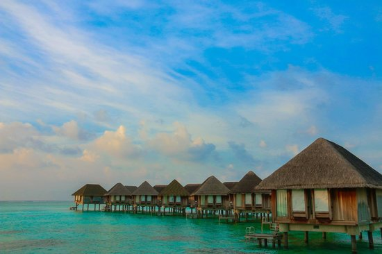 Club Med Kani : Water Chalets