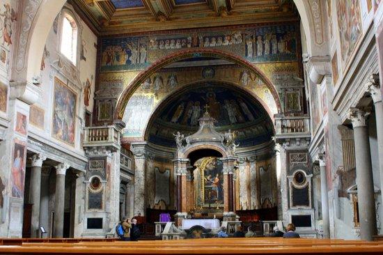 Basilica Di Santa Prassede: Innenraum Santa Prassede