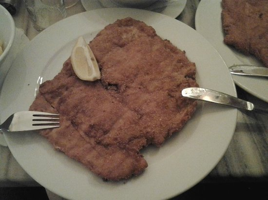 Café Diglas: cotoletta viennese