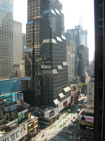 Novotel New York Times Square: Room with a view...