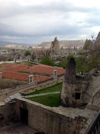 Cappadocia Cave Suites: view from breakfast terrace