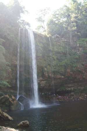 Cascadas de Misol-Ha: muy bonito lugar