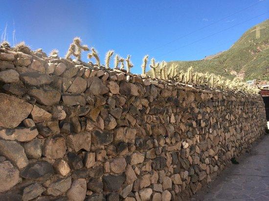 Plaza de Armas de Chivay: excellent la murette