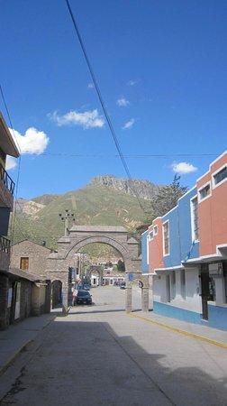 Plaza de Armas de Chivay: rue