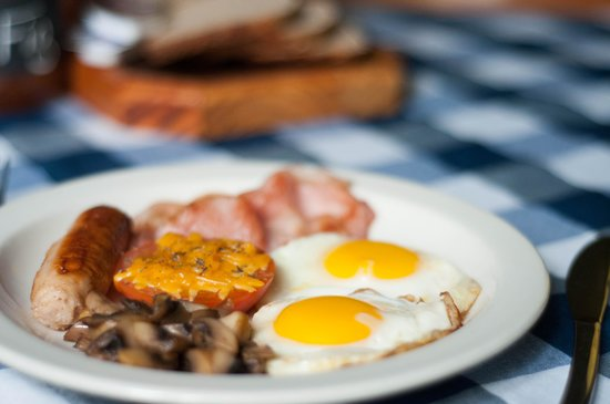 iNkosi Eco Lodge: A Delicious Breakfast cooked from iNkosi's Kitchen