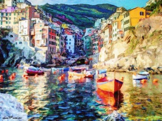 La Lampara: Marina di Riomaggiore
