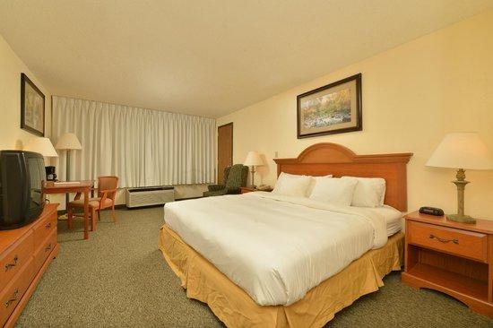 Quality Inn Sylva : King Guest Room
