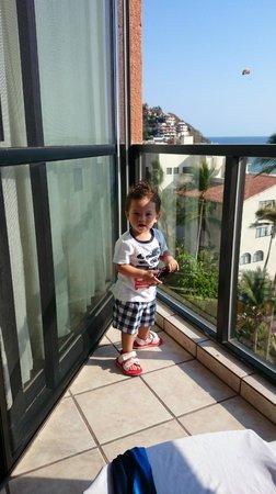 Barcelo Ixtapa: En el balcon de la habitacion