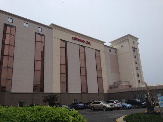 Hampton Inn Virginia Beach Oceanfront North: Front