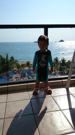 Hotel Barcelo Ixtapa Beach Resort: Desde la habitacion