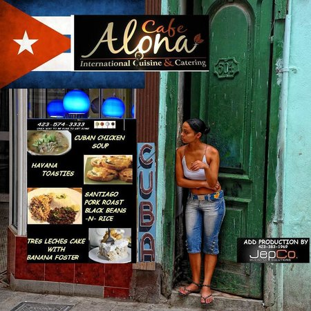 Cafe Alona: CUBAN CUISINE APRIL 24TH-26TH