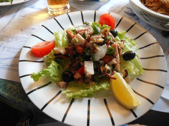 Restauracija Konavoka: Octopus salad
