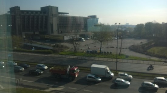 Hilton Garden Inn Hotel Krakow: View from the junior suite