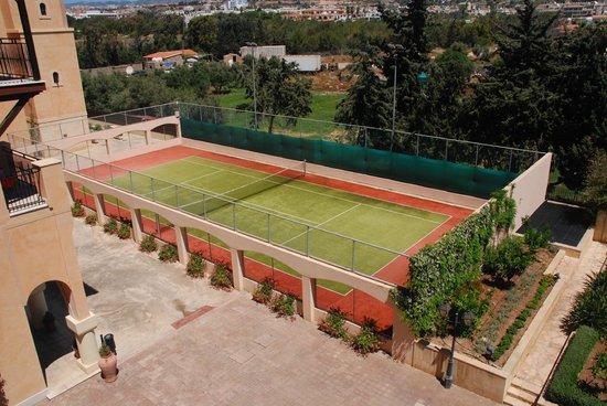 Elysium Hotel: Tennis Area