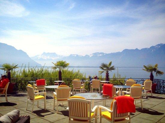 Golf-Hotel Rene Capt: Best view from lobby balcony