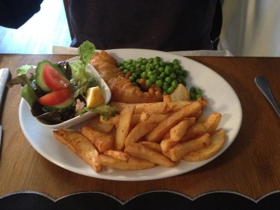 The White Hart : Fish and chips