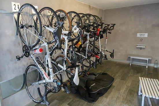 Hotel Playa: Cykelgaraget