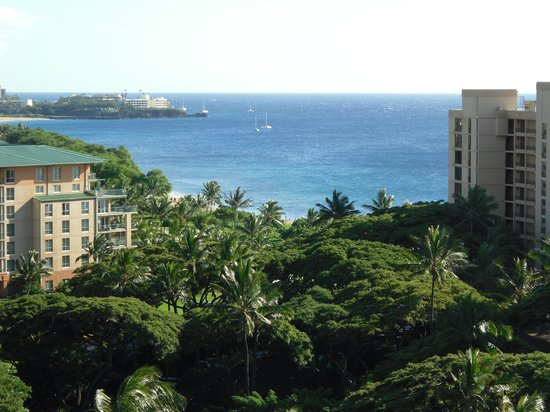 Ka'anapali Beach Club: View from our unit.