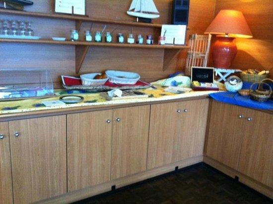 Hotel Brise de Mer: Choix du petit déjeuner