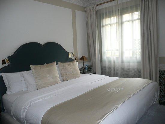 Palais Faraj Suites & Spa: Doppelbett