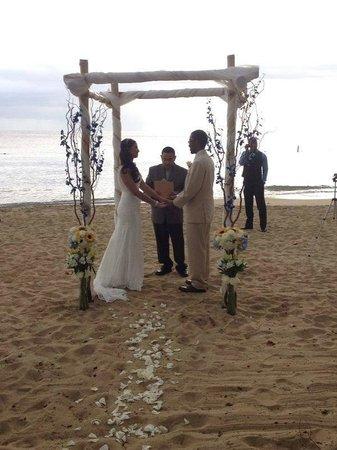 Rincon Beach Resort: Photos from our wedding