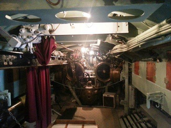 Technology & Maritime Museum: Submarine interior