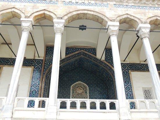 Museo de Arqueología de Estambul: PAVILLON BLEU FACADE