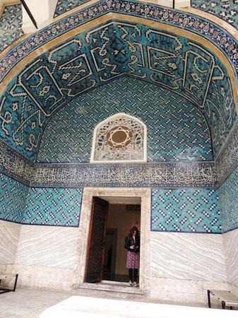 Museo de Arqueología de Estambul: PAVILLON BLEU ENTREE