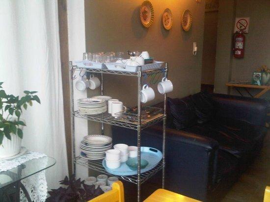 La Casa De Tere B & B : Sala desayuno