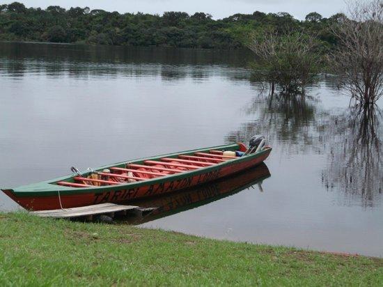 Tariri Amazon Lodge : the boat