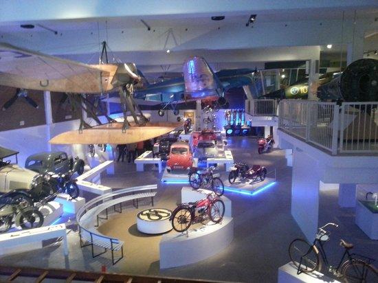 Technology & Maritime Museum: Museum hall