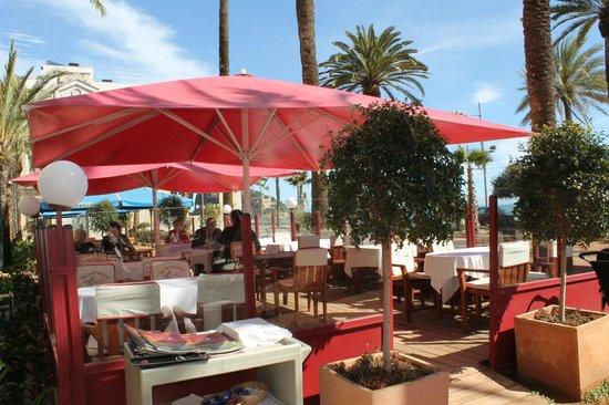 Restaurante Vives : terraza