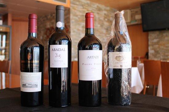 Restaurante Vives : vinos