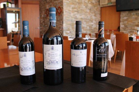 Restaurante Vives: vinos