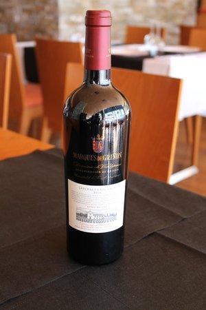 Restaurante Vives: vino