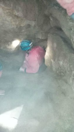 Caving Under Budapest : voller Einsatz