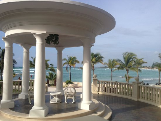 Barcelo Maya Palace : Loved the view from the first floor :)