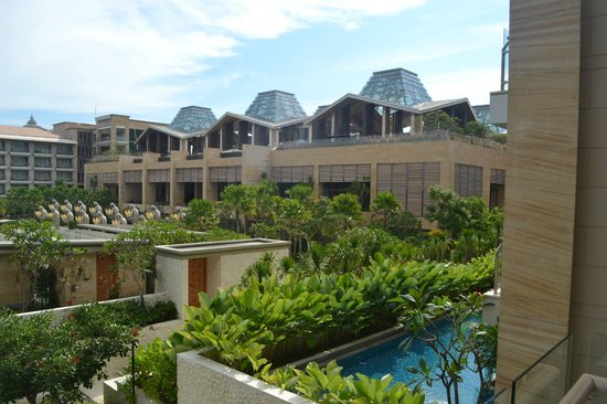 Mulia Resort: view from the room