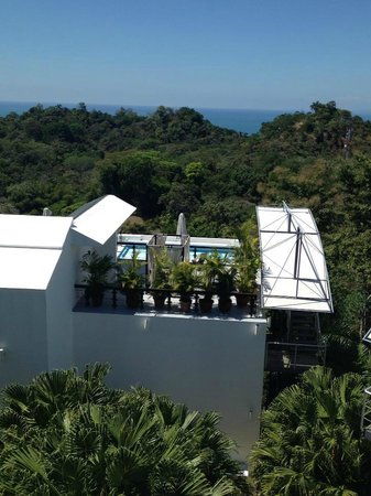 Gaia Hotel & Reserve: Hotel View