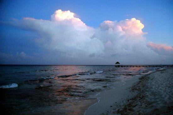 Petit Lafitte: spiaggia e mare al tramonto